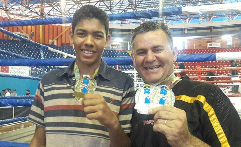 Além de Ortiz, também competiu Rogério Silva, que venceu três combates