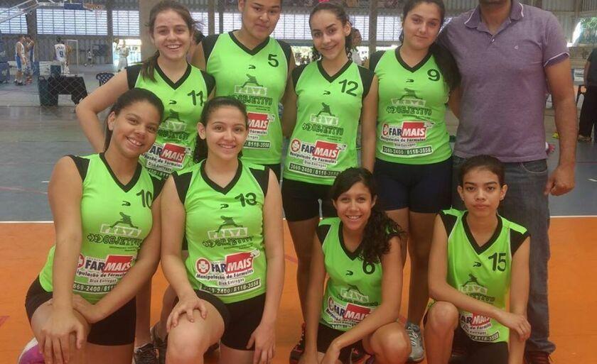 O time sub-14 feminino teve o placar de Paranaíba 40 X 30 Três Lagoas (MS)