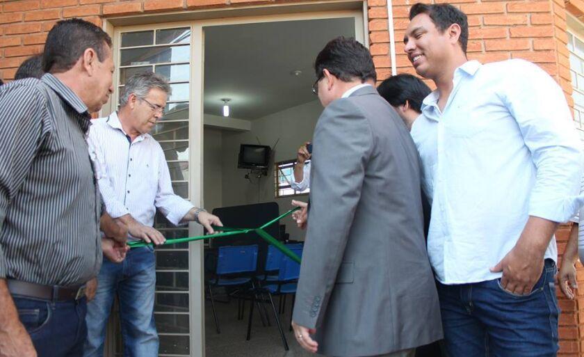 Diversas autoridades participaram do reinício das atividades