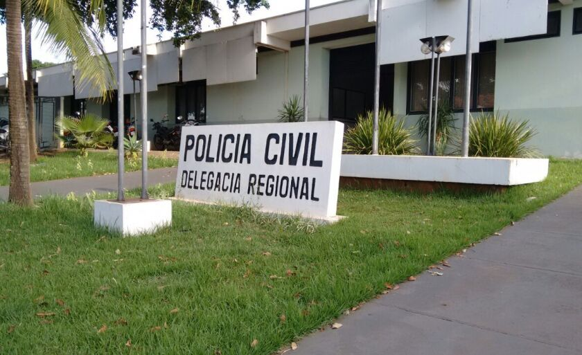 Os policiais encaminharam a vítima até a Delegacia de Polícia para registrar a ocorrência