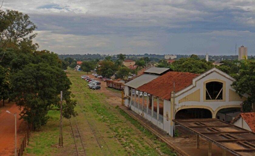 Além do prédio da antiga Estação Ferroviária, município ficará responsável por outras áreas