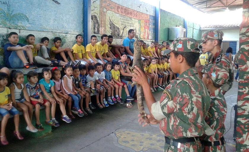 Projeto Florestinha tem educação lúdica com as crianças como norteador das ações para a prevenção e preservação do meio ambiente