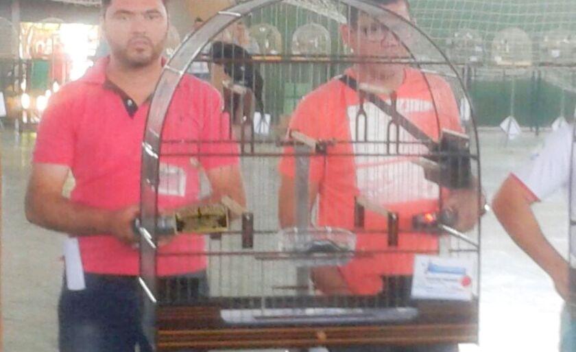 Pássaro avaliado em R$ 1 foi a atração do evento em Três Lagoas