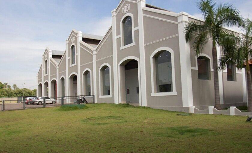 ISI Biomassa de Três Lagoas foi construído em um barracão da antiga ferrovia no bairro Santa Luzia