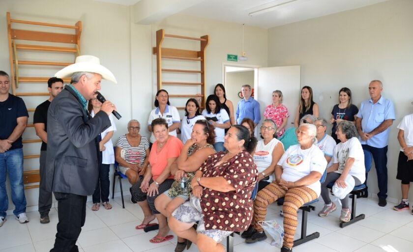 Pronunciamento de Angelo Guerreiro foi feito na manhã desta sexta-feira, no posto de saúde do bairro Jardim Maristela