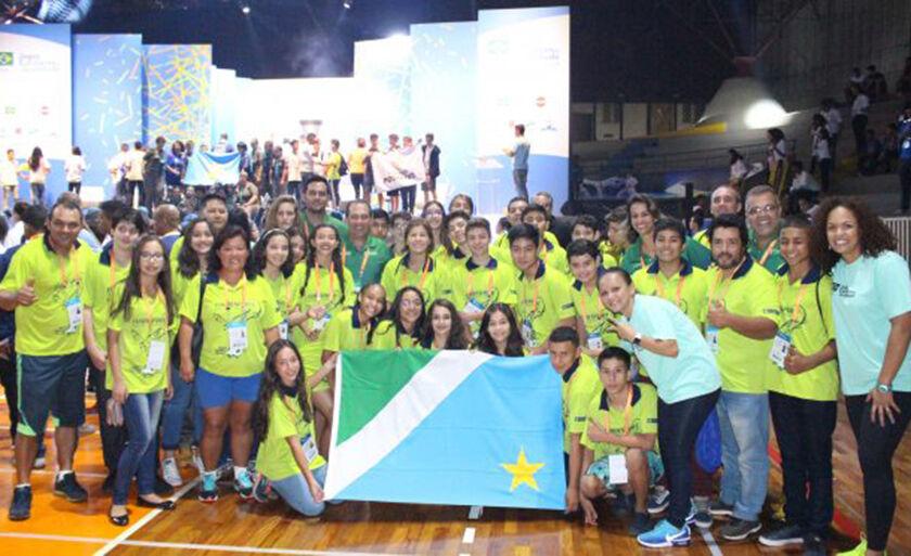 MS foi representado por 11 atletas no desfile de abertura
