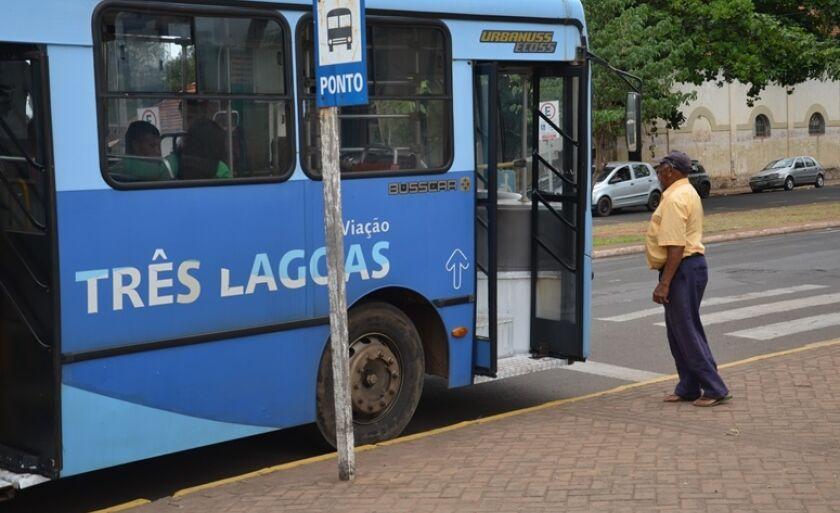 Pessoas com 60 anos ou mais poderão usar ônibus de graça em Três Lagoas