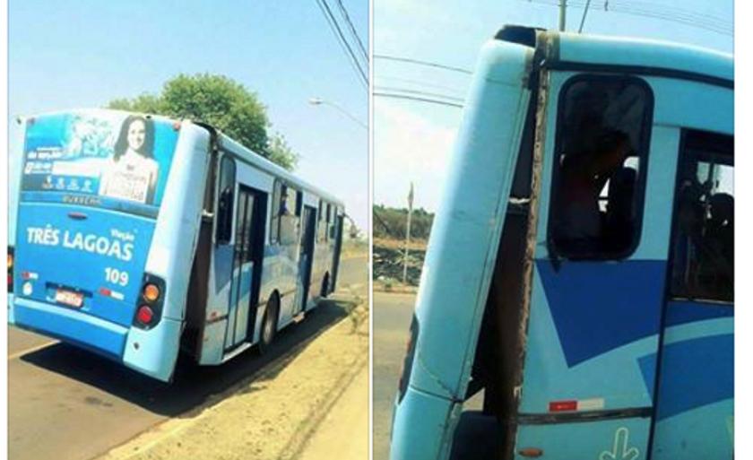 Pais denunciam superlotação e precariedade de ônibus que transporta alunos