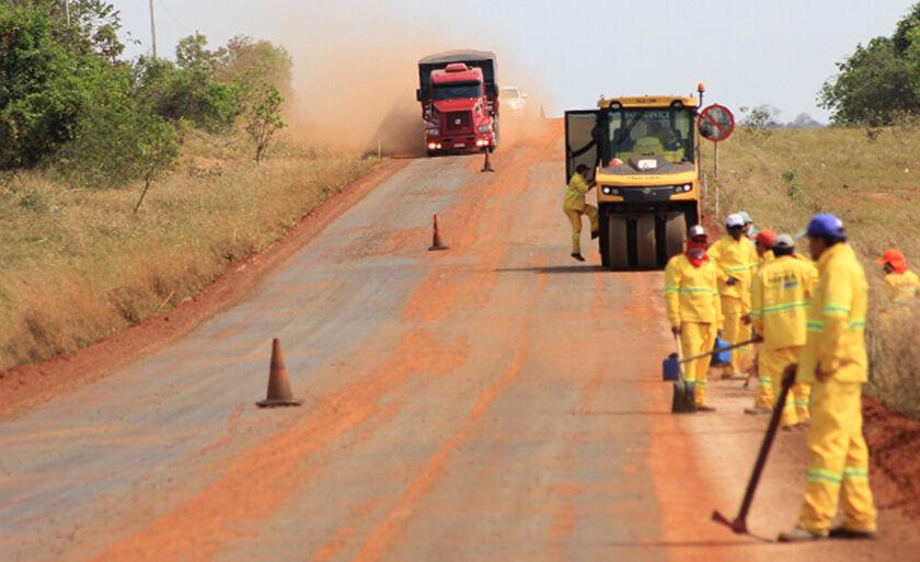 Asfalto da região foi construído há 15 anos. Em todo esse tempo, essa é a 1ª vez que é recuperado com recursos avaliados em R$ 43,5 milhões