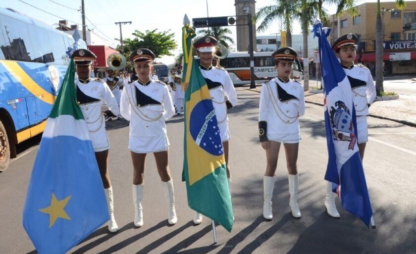Semana da Pátria é comemorada desde a semana passada em Três Lagoas