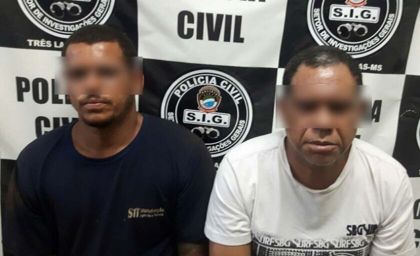 Dupla presa foi levada para a Penitenciária de Segurança Média de Três Lagoas