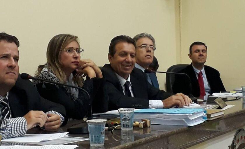 O prefeito Ronaldo Miziara acompanhou a votação e fez um pronunciamento ressaltando a importância da aprovação