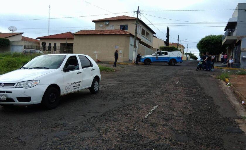 A Pericia Técnica esteve no local para averiguar as causas do acidente