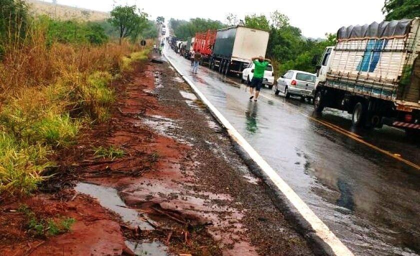 Acidentes foram registrados no trecho de Três Lagoas a Campo Grande