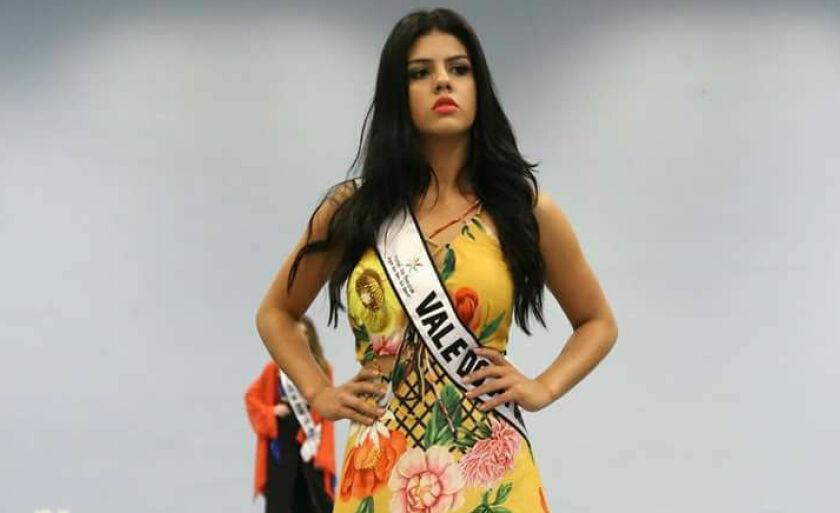 Neste ano, a modelo Ana Flávia Modesto, venceu o campeonato estadual e disputou o Miss Mundo Brasil