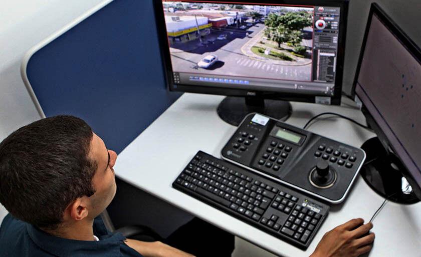 Sistema de videomonitoramento foi instalado para contribuir com a segurança pública