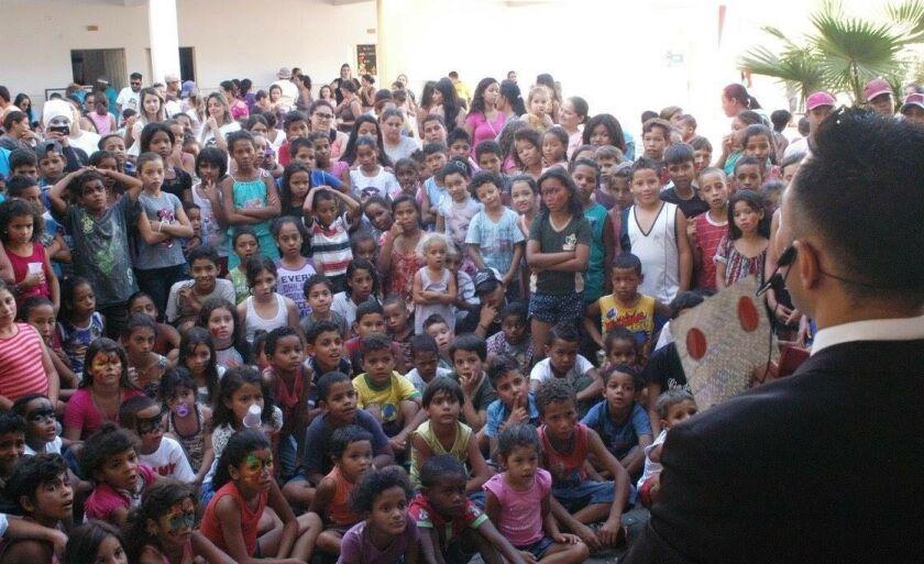 Primeira edição da festa de Dia das Crianças realizada pelo Comunidade Educa foi feita no ano passado