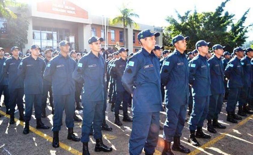 Em 2017 Paranaíba foi pólo para o curso de formação de cabos da PM