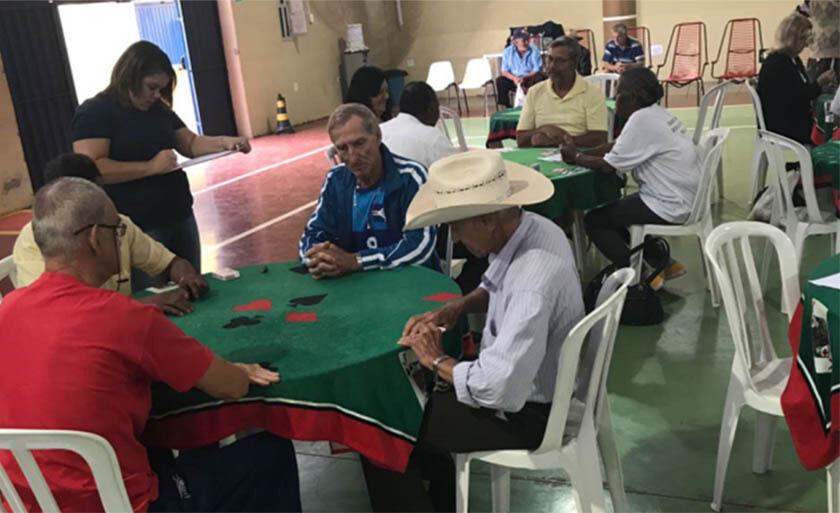 Entre as várias modalidades está os esportes de mesa