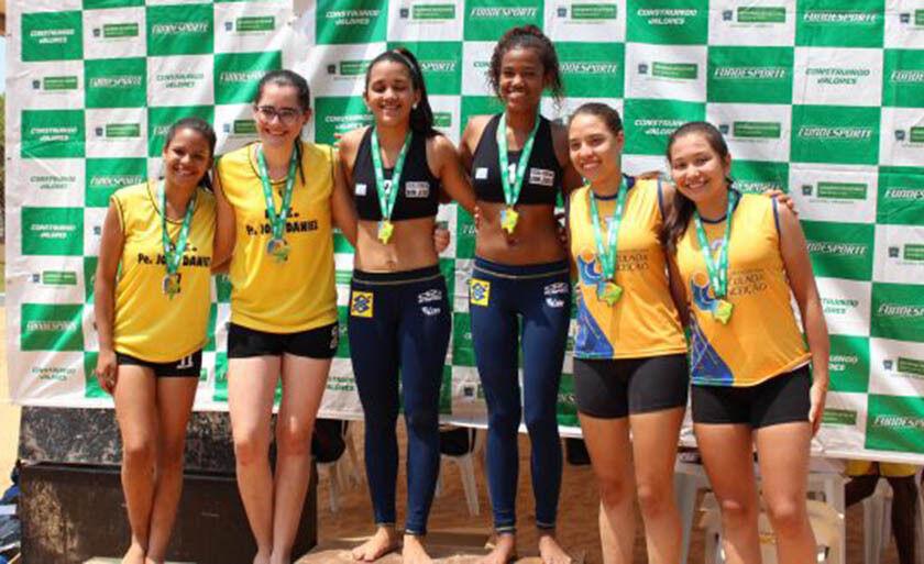 A dupla de ouro volta aos Jogos Escolares da Juventude (JEJ) com a meta de conquistar uma medalha