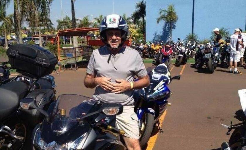Odair sempre foi apaixonado em motocicleta