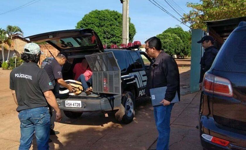 Polícia cumpre mandados de prisão em diversos pontos da cidade