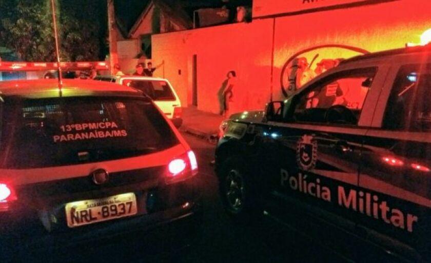 A PM desencadeia a Operação Pacificador em Paranaíba (MS)