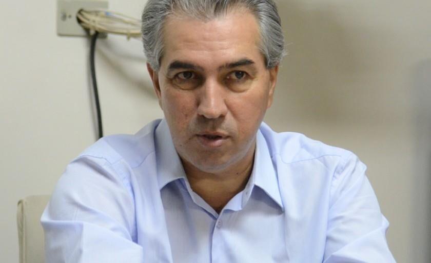 Atual governador do Estado, Reinaldo Azambuja (PSDB)