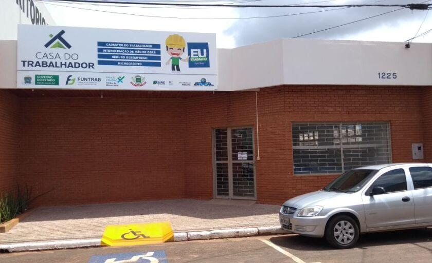 O candidato trabalhará na área administrativa de uma empresa em Paranaíba