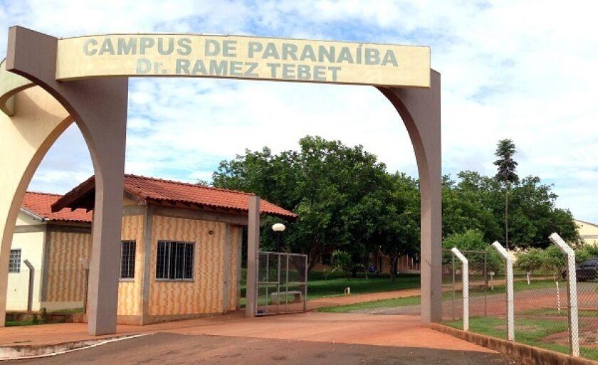 Campus da Universidade Federal de Mato Grosso do Sul em Paranaíba