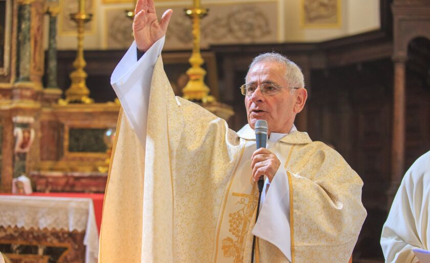 Carmelo veio para o Brasil em 1968 e esteve à frente da paróquia de Paranaíba de 1974 a 1984
