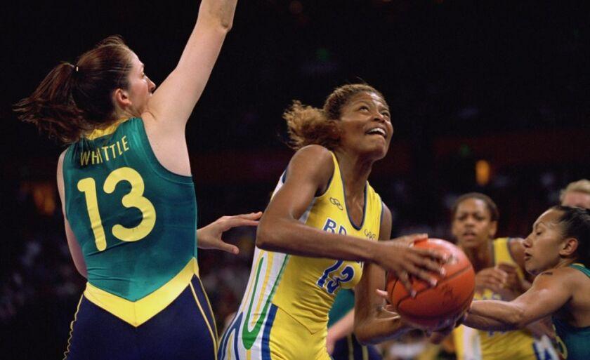 Alessandra foi campeã mundial em 1994 pela Seleção Brasileira de Basquete