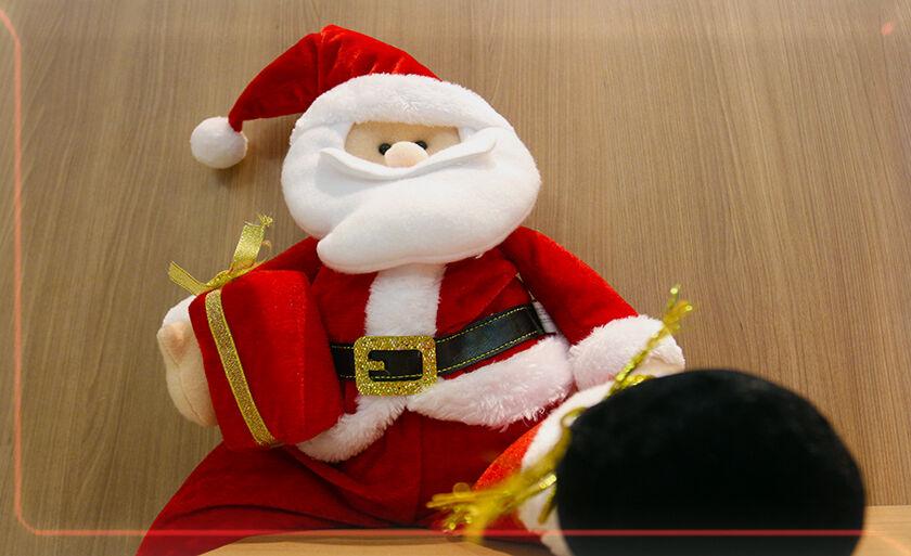 Faltam 18 dias para o Natal e o clima natalino já está em todos os lugares