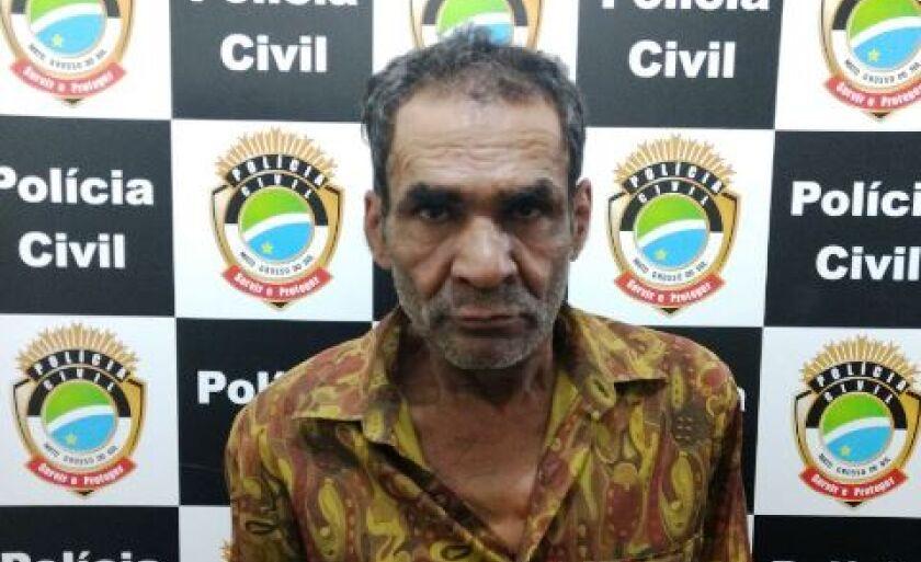 Aparício Alves dos Santos foi preso em flagrante