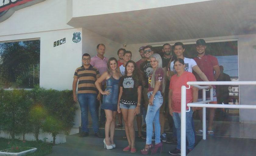 Participantes do reality show Essa Honda e Minha, realizado pela Rádio Cultura FM