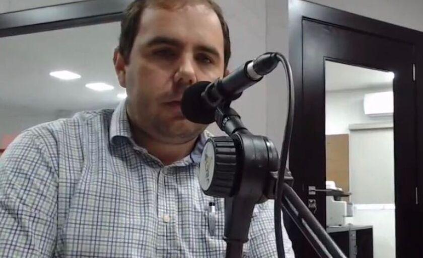 Rogério Rosalin durante entrevista à CBN Campo Grabde