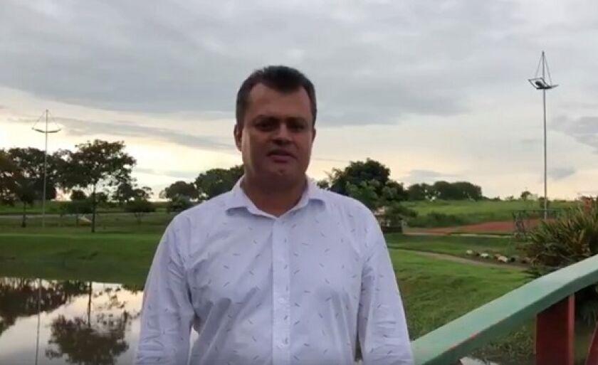 Vice-prefeito de Paranaíba, Elson Cesar Garcia (Cesinha Leal-PSB)