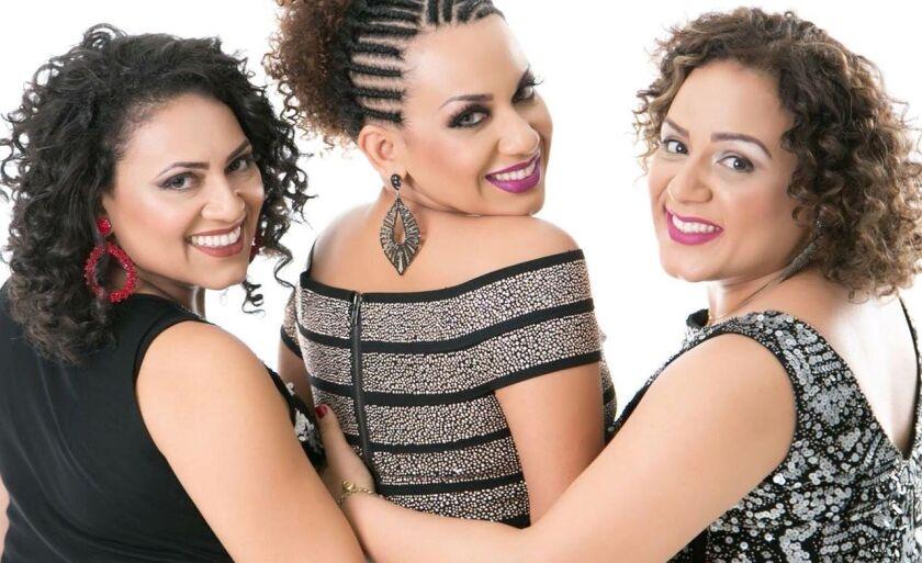 Grupo Sampri é composto pelas irmãs Renatinha, Magaly e Luciana