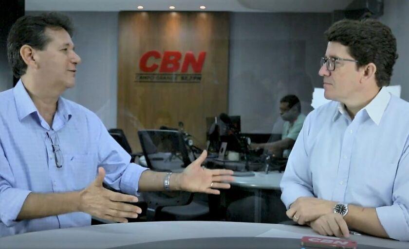 Ruy Fachini Filho em entrevista ao jornalista Otávio Neto na série Cenário CBN, Desafios e Perspectivas 2018