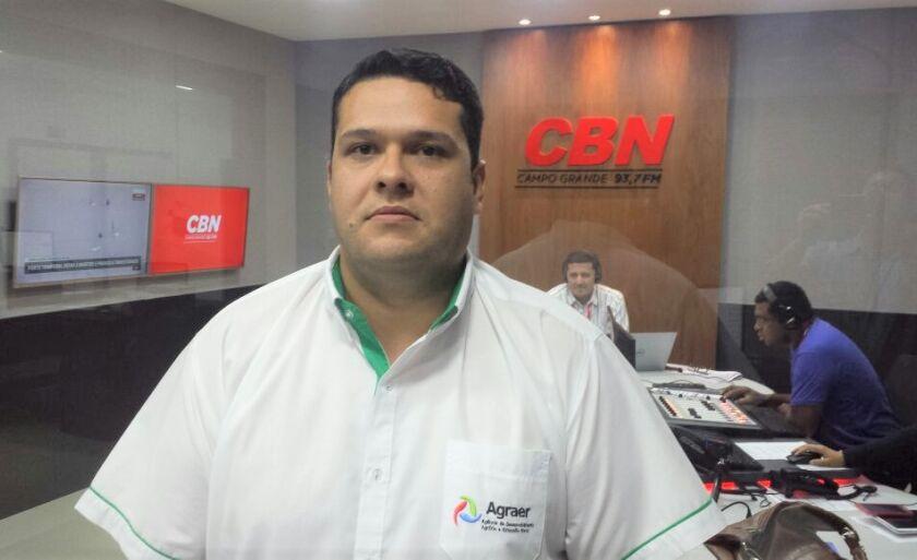 Arnaldo Santiado é gestor da Agraer