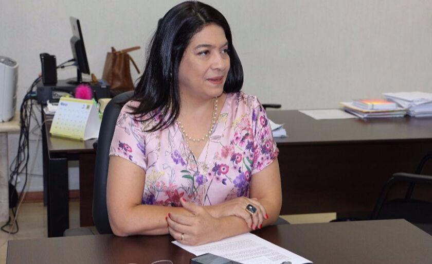 Secretária da Sedhast, Elisa Nobre
