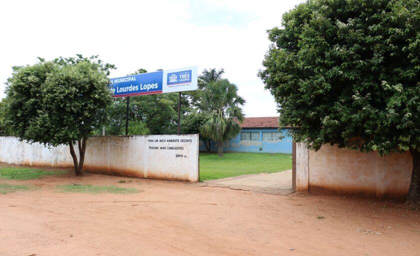 As aulas serão lecionadas na escola municipal Maria de Lourdes Lopes