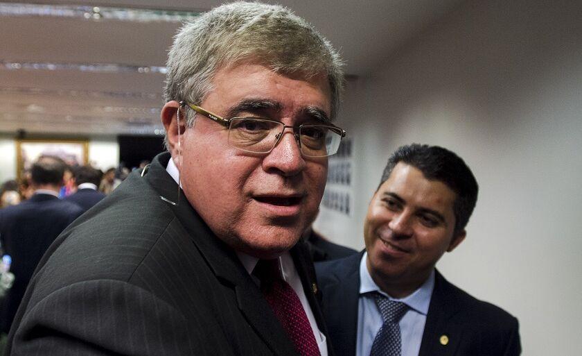 Marun se reuniu com o presidente da Casa, Rodrigo Maia, nesta quinta-feira