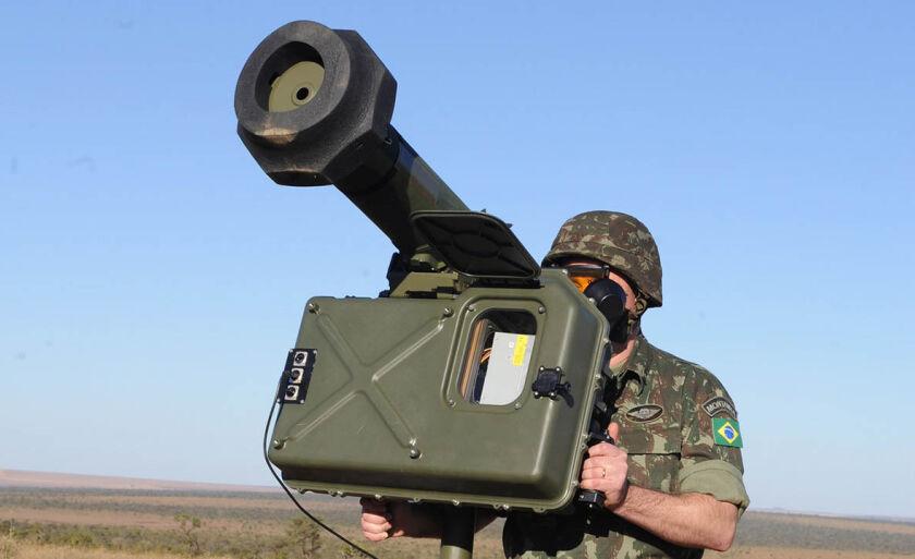 """Míssil será usado para proteção aérea de """"pontos sensíveis"""""""