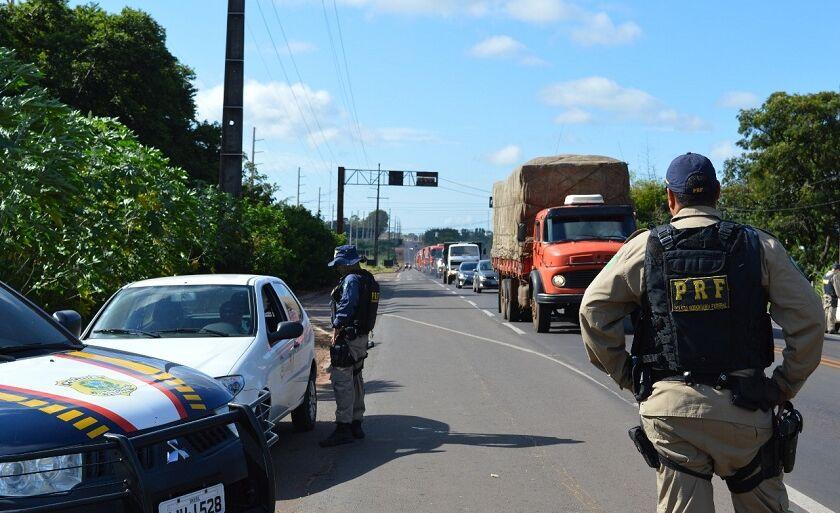Operação nas estradas de Mato Grosso do Sul termina às 23h59 desta quarta-feira
