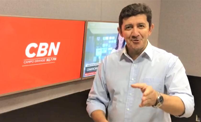 Jornalista Otávio Neto,âncora da CBN Campo Grande