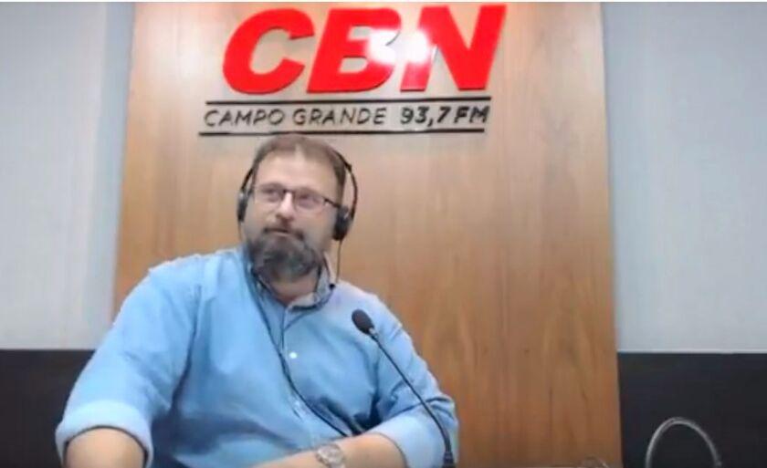 Paulo Cruz é o âncora do CBN Motors