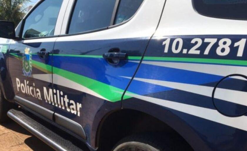 Polícia Militar atendeu a ocorrência e ainda procura pelo suspeito