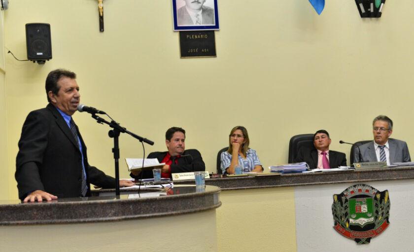Nelo José da Silva, presidente da Câmara de Paranaíba