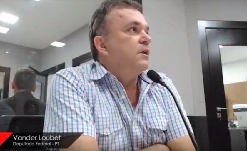Vander Loubet em entrevista à Rádio CBN Campo Grande